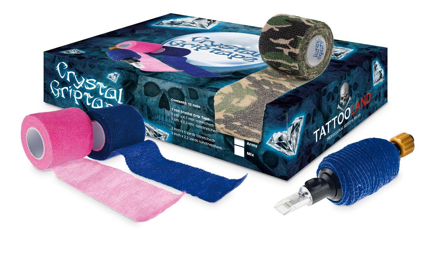Crystal Grip Covers, Sleeves & Tape