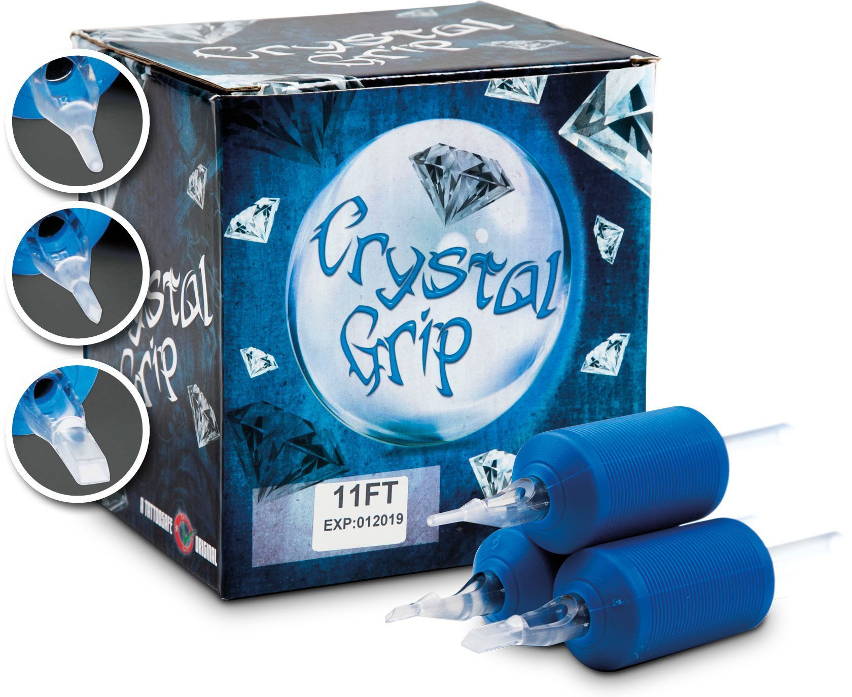 Crystal Disposable Grips