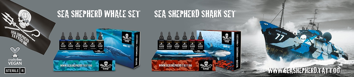 Sea Shepherd - Vegan Tattoo Ink
