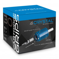 Crystal Disposable Cartridge Grips - 30 mm - Box of 15