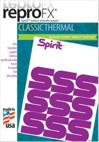 ReproFX Spirit - Classic Thermal Transfer Paper - Box of 100 Sheets
