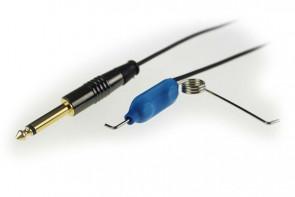 Crystal Coax Cable - Clip Cord - Black