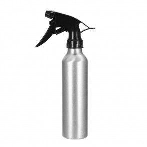 Aluminium Spray Bottle - Silver - 250 ml / 8 oz