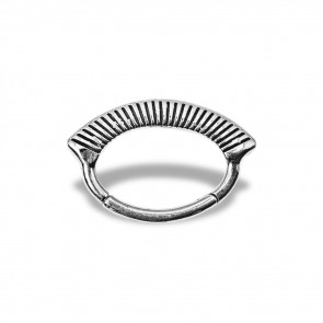 (41) Daith Clicker Vulture - Stainless Steel - Thickness 1.2 mm / Ø 6 mm