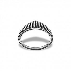 (42) Daith Clicker Mohawk - Stainless Steel - Thickness 1.2 mm / Ø 6 mm