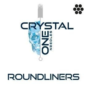Crystal 1- Needles - Round Liners - Box of 50