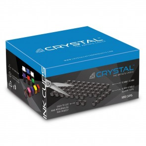 Crystal - Black Ink Cup Sheets - 500 Cups