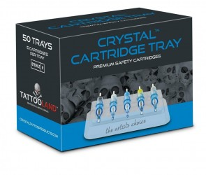 Crystal Cartridge Trays - Box of 50