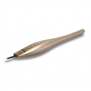 Crystal Cosmetics - Microblading Pen - U Shape - Gold
