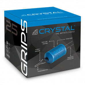 Crystal Grips - 25 mm - Magnum Open Tip - Box of 20