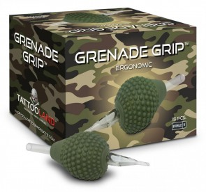Crystal Grenade Grips - 38 mm - Flat Tip - Box of 15
