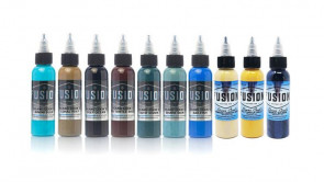 Fusion Ink - Deano Cook Signature Palette - 10 x 30 ml / 1 oz