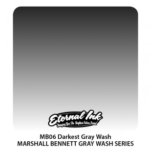 Eternal Ink - Darkest Greywash - 120 ml / 4 oz - EXP: 03-08-2020