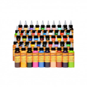 Eternal Ink - 50 Colour Silver Set - 30 ml / 1 oz