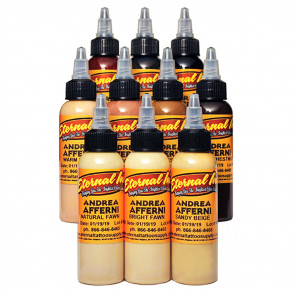 Eternal Ink - Andrea Afferni Portrait Set - 10 x 30 ml / 1 oz