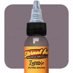 Eternal Ink - Zombie Colours - Putrid Brown - 30 ml / 1 oz - EXP: 05-2021