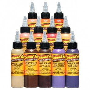 Eternal Ink - Portrait Skin Tone Set - 12 x 30 ml / 1 oz