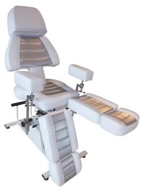 Professional PMU & Piercing Client Chair - Titanium