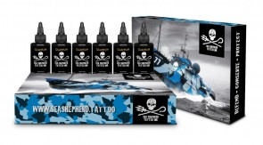 Quantum Ink - Sea Shepherd Greywash Set - 6 x 30 ml / 1 oz