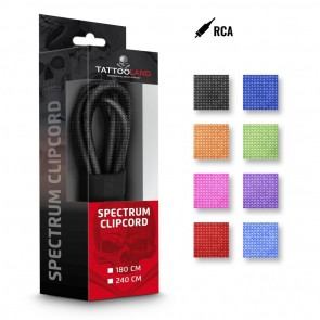 Spectrum Deluxe Silicone RCA Cables - Angled