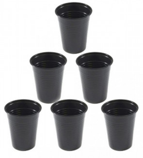 Unigloves Black Line - Plastic Rinse Cups - Pack of 100
