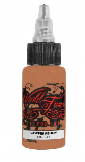 World Famous Ink - Copper Penny - 30 ml / 1 oz - EXP: 16-10-2020