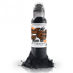 World Famous Ink - A.D. Pancho - Pastel Grey #5 - 120 ml / 4 oz - EXP: 11-2021